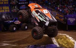 Joe Sylvester will be racing in TORC off road racing series this season, he will still manage to find time to wow his fans from the seat of the Bad Habit monster truck in the Monster Jam Series as well.
