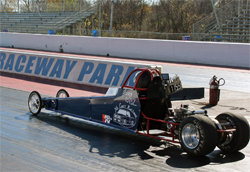 Teen driver Joey McCune will get a new faster dragster for his 2010 junior dragster season
