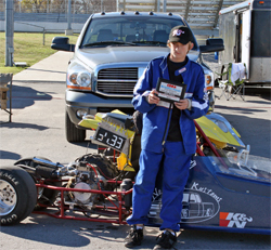Junior Dragster Rookie Joey McCune had a good first season and plans a full race schedule in 2010