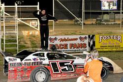 Jon Henry wins American Late Model Series Race at Attica Raceway Park