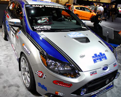 SEMA featured Rally Innovations modified Ford Focus ST