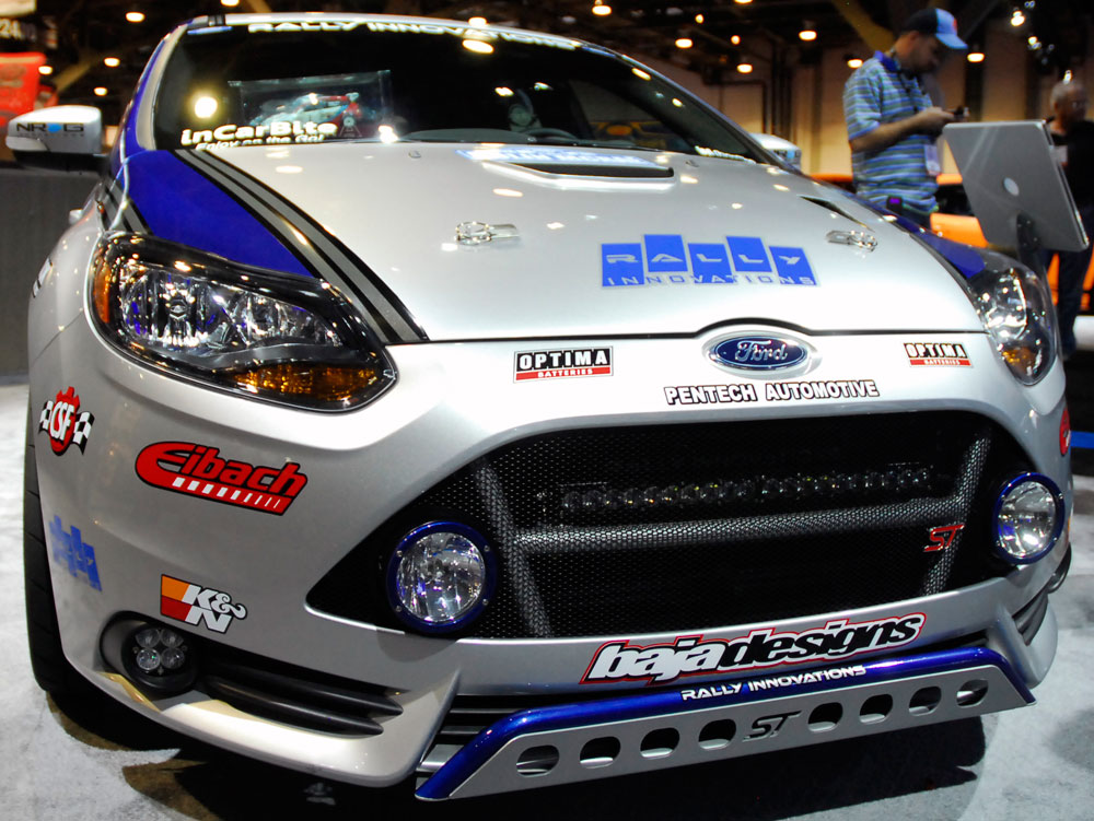 John Penano Brings Rally Innovations Modified Ford Focus Strally Car