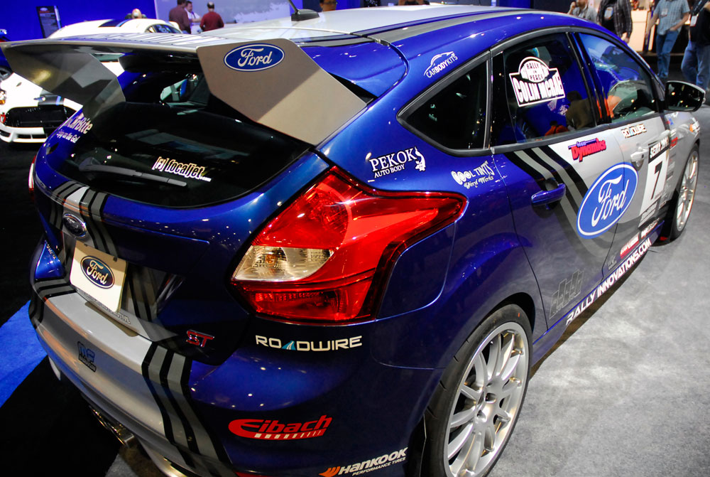 Building Rally Car Ford Focus