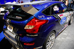 Sporty Ford Focus ST Modified to Rally Car takes SEMA Center Stage