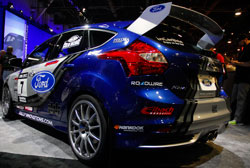 Ford's SEMA Booth Featured this 2013 Focus ST