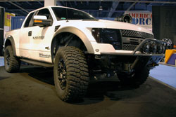 John Williams' 2010 Ford F-150 Raptor at SEMA