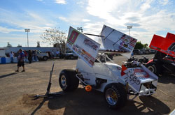 Jonathan Allard recently returned from New Zealand, where he raced sprint cars during the off season in the United States.