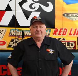 Warren Johnson, owner driver of the K&N Filters Pontiac GXP Pro Stocker