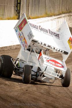 Jonathan Allard's Sprint Car Rookie titles include Marysville Speedway, Golden State Challenge Series, Silver Dollar Speedway, and Short Track Nationals.