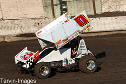 Jonathon Allard recently took second place while racing in the World of Outlaws series at the Silver Dollar Speedway in his hometown of Chico, California.