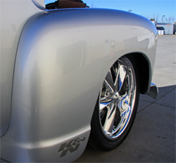 Chip Foose Wheels, 5-spoke billet, custom made prototype production model