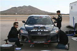 Joon Maeng and the team have been working to make sure the vehicle is fully-prepared for the Formula D series