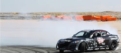 Joon Maeng testing his new RX-8 drifter for the first time