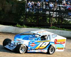 Jordan racing at Grandview Speedway