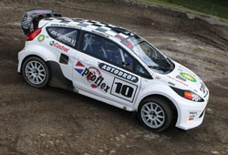 With his win at Valkenswaard K&N supported Jos Kuypers now has the lead for the Dutch Rally Racing Championship title.