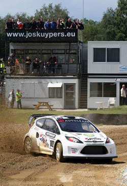 Kuypers is one of the more famous Rally Cross drivers on the European race scene.
