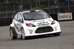 Kuypers Ford Fiesta experienced some early round sputters, but they were all worked out in time for the final.