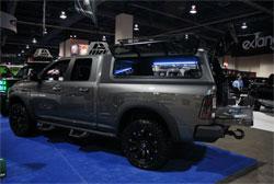 SEMA featured A.R.E Dodge Ram 1500 pickup truck