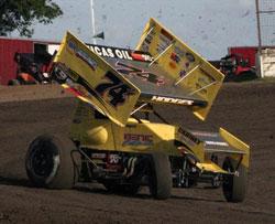 ASCS 360 Sprint Car Racer Josh Hodges