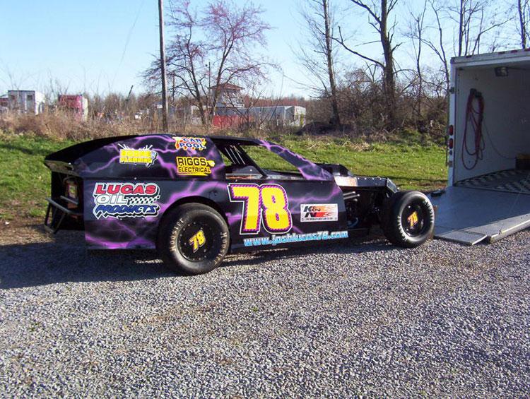 Josh Lucas Wins Dirt Modified Race At Richmond Raceway And