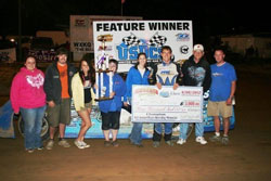 Josh McGuire's win at the Roger Breeding Memorial was his third of the 2012 United Super Dirt Car Series racing season.