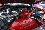 Engine of Josh Nepa's Toyota Supra