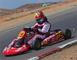 Grange Racetrack hosted Tri-C Karters paradise Chevrolet Fall Series in high desert east of Los Angeles, California