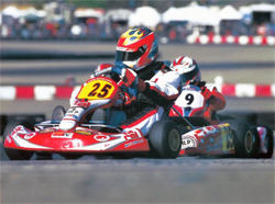 K&N teen sponsored racer took first place in the IFK or International Karting Federation sanctioned racing event