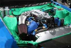 Gittin's 2010 Mustang GT is equipped with a K&N concial air filter and K&N oil filter