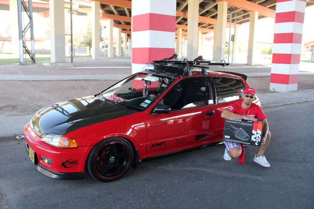 Juan E. Sierra Ortiz Is Proud Of His 1992 Honda Civic 3 Door Hatchback And
