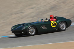 Big Dog Garage general manger Bernard Juchli raced his 1963 Jaguar XKE Coupe with the Vintage Auto Racing Association