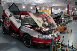 Julio Torres' custom 2004 Pontiac GTO is a rolling tribute to all those that have died serving our country.
