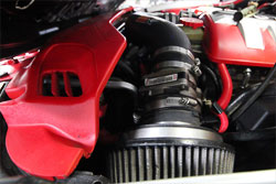 Julio Torres' uses K&N's 2004 Pontiac GTO air intake system 57-3044
