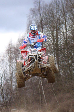Although racing with dated machinery, Mohr plans on winning his fifth German title this year.