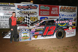 There is a fine line between traction and breaking loose in Dirt Modified racing