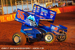 Justin Henderson recently earned his second victory in the Sorokack #35 car at Williams Grove Speedway.