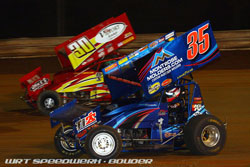 Going into the season fimale at Williams Grove Speedway, Justin Henderson had confidence on his side.