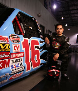 Uli Perez has invested effort in getting the Latino community more involved with NASCAR racing.