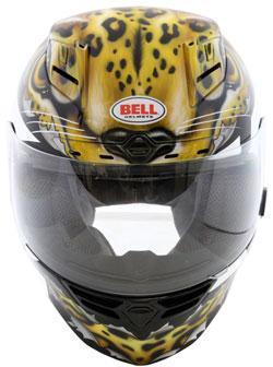 Sullivan's New K&N Custom Designed Helmet was designed to match her new bike.