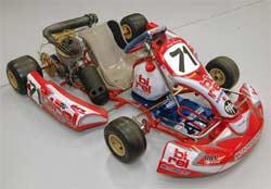 Kart with K&N Airbox