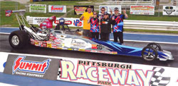 The Fisher Racing team at Pittsburgh Raceway Park. Photos by: BME Photography.