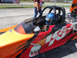 I also want to say a very special thanks to Adam Stadler from K&N who designed Lil' Vixen's award-winning paint scheme.