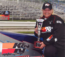 Kathy Fisher Gets Quick Rod Victory in IHRA Div 3. Photos by: BME Photography.