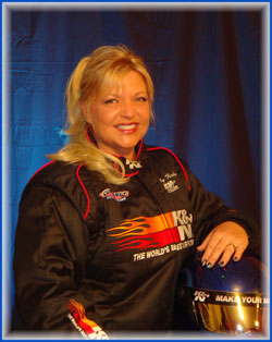 Fisher says her experience on the special episode of Inside Drag Racing was priceless.