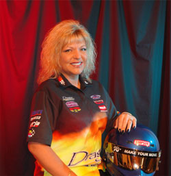 Driver, Tuner, TV Host, Frank Hawley Drag Racing School Rep and more - K&N's Kathy Fisher