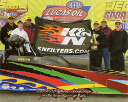 This is Raftery's third win at Jeg's Cajun SportsNationals and his first Top Dragster victory