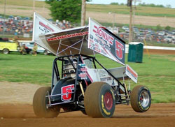 Adam Bomb Kekich says the biggest adjustment moving into the 410 Sprint Car was how much faster it accelerated.