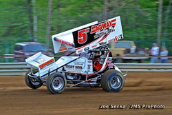 The third place finish at Mercer Raceway Park was Kekich's best 410 finish yet.
