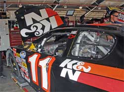 K&N Chevrolet at Auto Club Speedway for NASCAR Nationwide Series Race