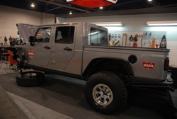 At the 2013 SEMA show Warn Industries displayed a Jeep JK with an ARB brute conversion and K&N air filter with wrap
